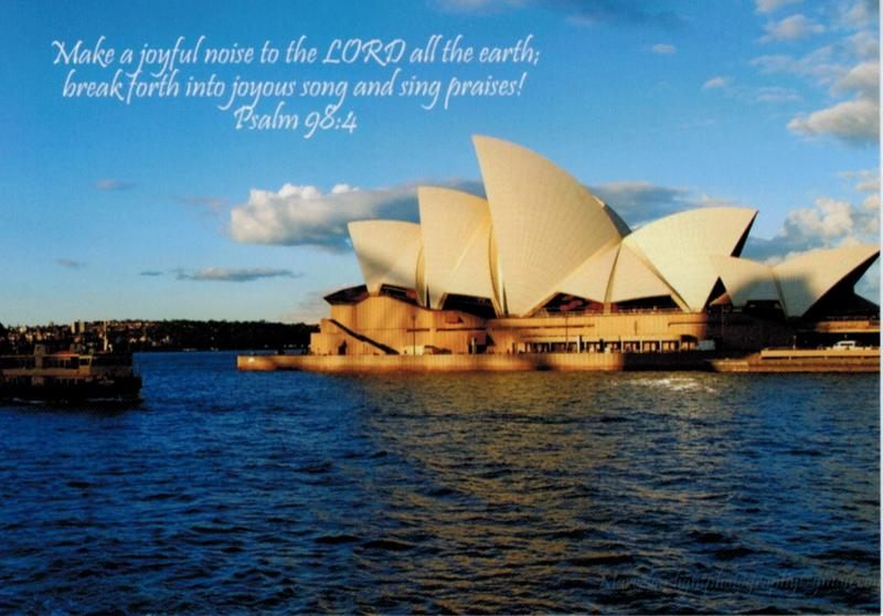 Sydney Opera House and Scripture